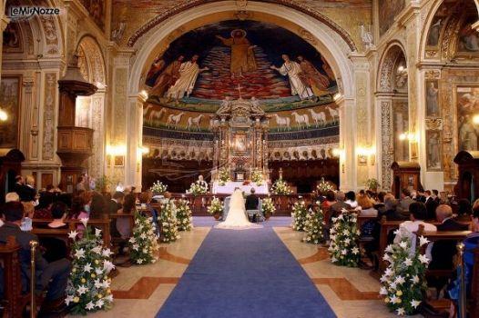 Foto della cerimonia di matrimonio