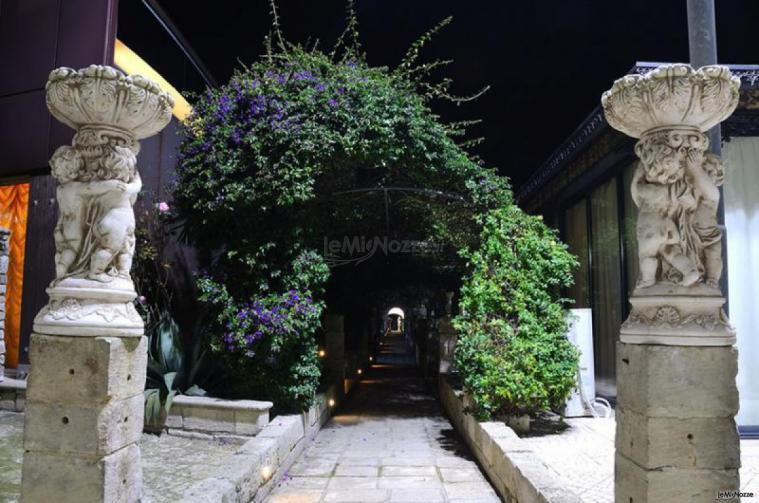 Tenuta Montenari - Portico della location di nozze