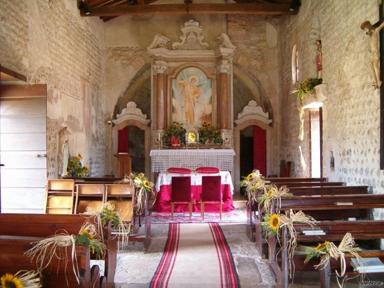 Fiori Matrimonio Girasoli : Foto addobbi floreali chiesa e cerimonia ingresso