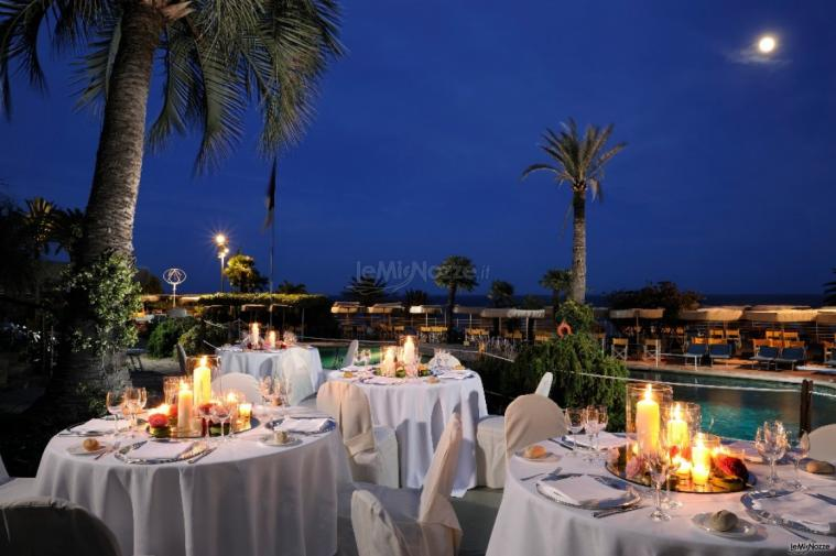 Royal Hotel Sanremo - La terrazza per gli eventi all ...