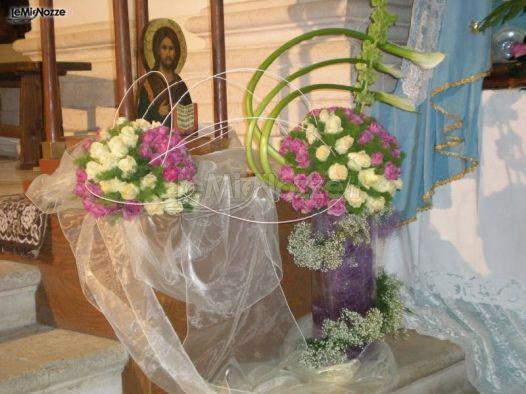 Foto 541 addobbi floreali chiesa e cerimonia addobbi for Addobbi 25 anni di matrimonio