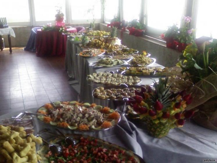 Buffet ad Antica Osteria Saracena del Bergallo