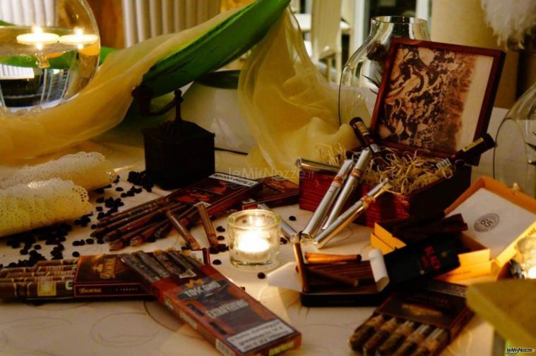 Villa Madama - L'angolo per i fumatori