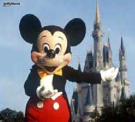 Luna di miele a Disneyland