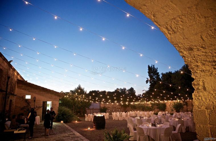 Masseria San Lorenzo - La corte panoramica