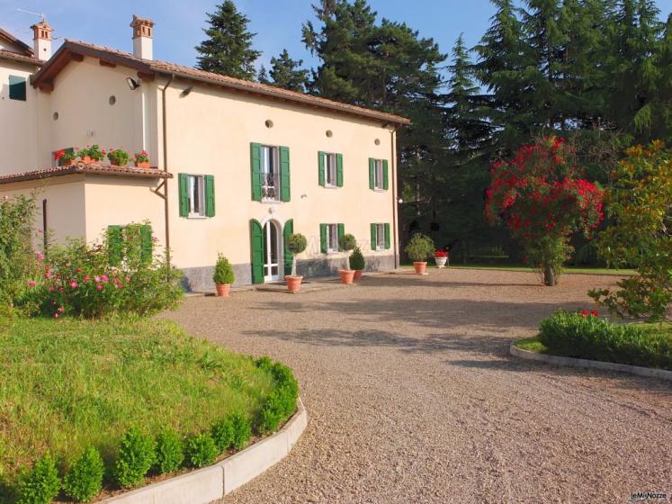 Villa Fabio - L'arrivo alla villa