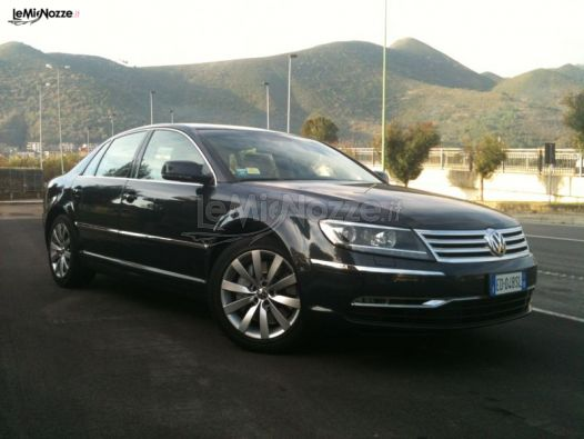 Volkswagen Phaeton per il matrimonio a Savona