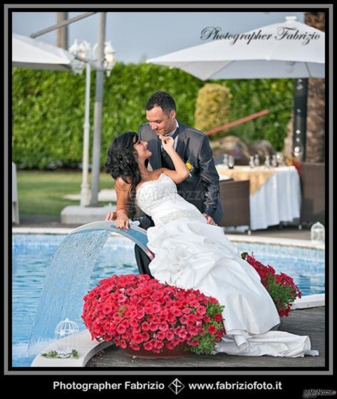 Fabrizio Foto - Sposa sui fiori di matrimonio