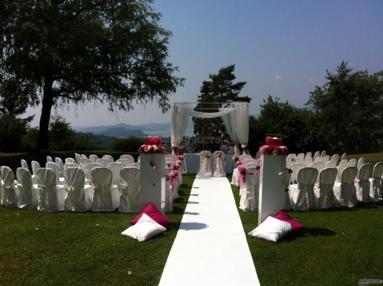 Cerimonia di matrimonio sul Lago Maggiore