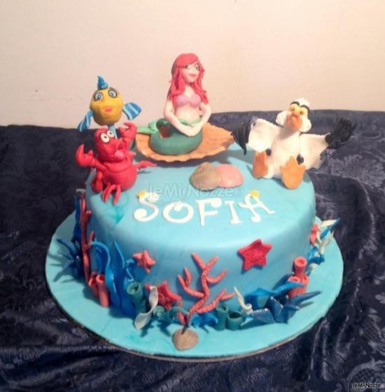 Matrimonio Tema Sirenetta : Foto torte nuziali originali torta per il