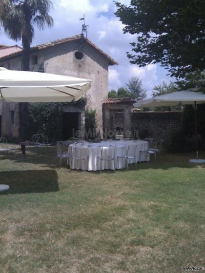 Allestimento giardino dettaglio villa manin guerresco clauiano ud villa manin guerresco - Allestimento giardino ...