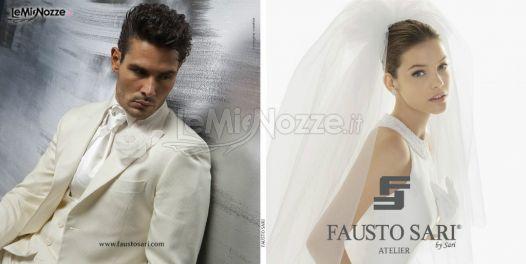 b17a13605c1b Abiti da sposa e sposo - Atelier Fausto Sari - Atelier Fausto Sari - Foto 1