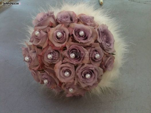 Bouquet Sposa Con Perle.Foto 112 Bouquet Sposa Bouquet Sposa Di Rose Con Perle