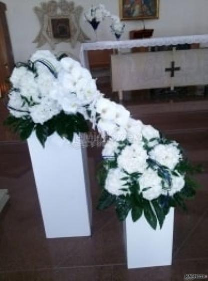 Wedding & Events by Renata Travel - Addobbi floreali in chiesa