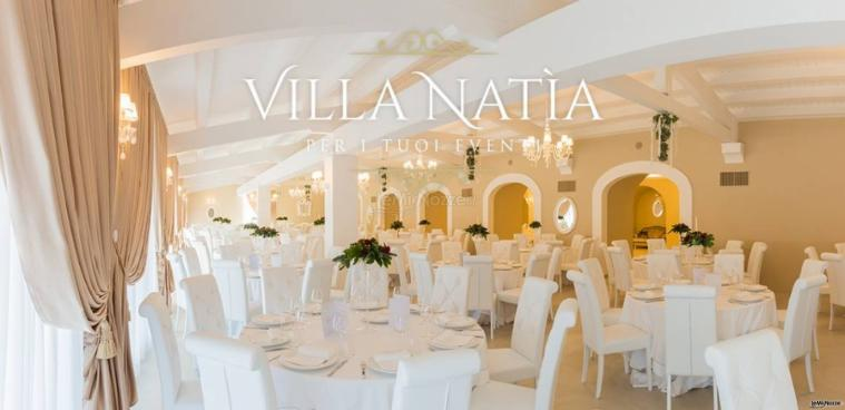 Villa Natìa - Allestimento in bianco