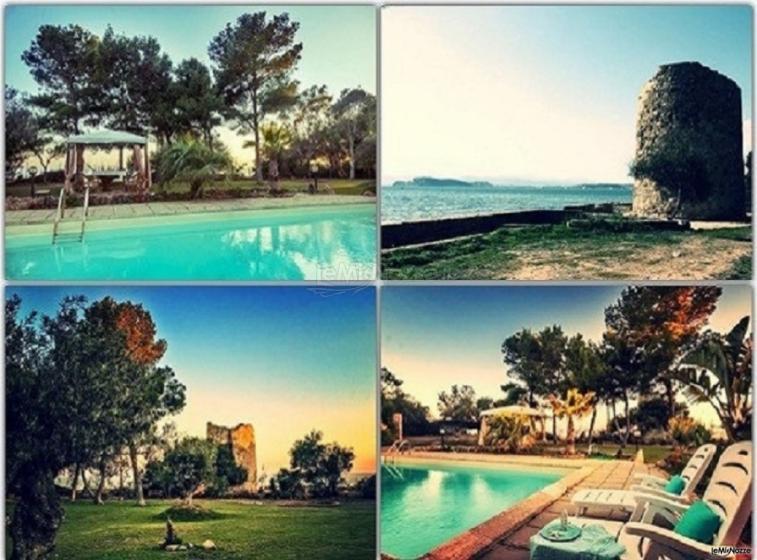 Villa RiVí Location Eventi - Il parco, la piscina, il panorama ed una Torre per rendere il tuo evento magico