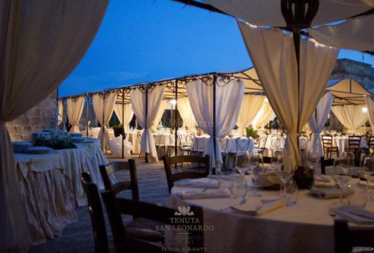 Tenuta San Leonardo - I tavoli degli invitati