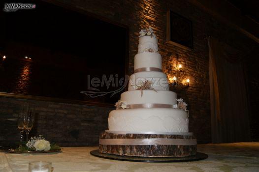 Matrimonio Tema Montagna : Foto torte nuziali artistiche torta nuziale tema