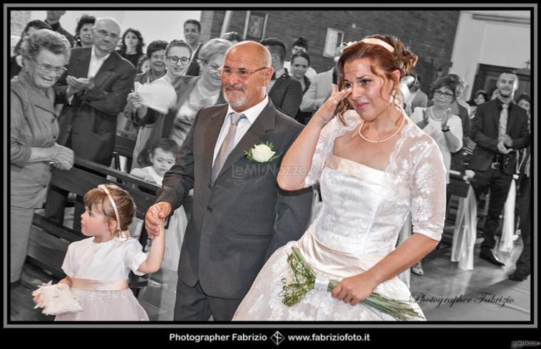 Fabrizio Foto - La commozione della sposa