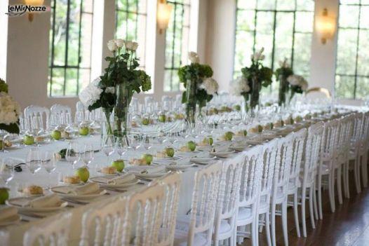 Abbobbi per il tavolo imperiale in stile modern chic