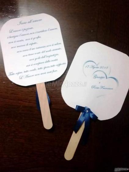 Partecipazioni e Coordinati di Tonia D'Adderio - Tante idee per le nozze come i ventagli