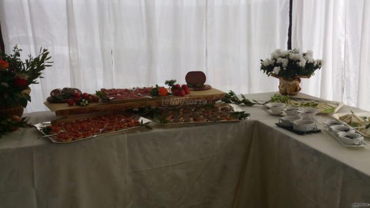 Borgo La Fratta - Antipasti tipici per il rinfresco di nozze