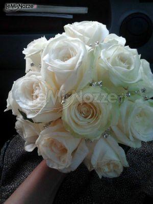 Foto 16 centrotavola matrimonio bouquet con for Immagini con brillantini