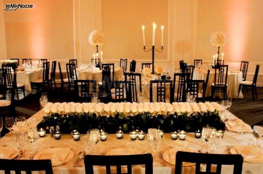 Foto 289 addobbi floreali location allestimento floreale della sala per il ricevimento di - Addobbi sala matrimonio ...