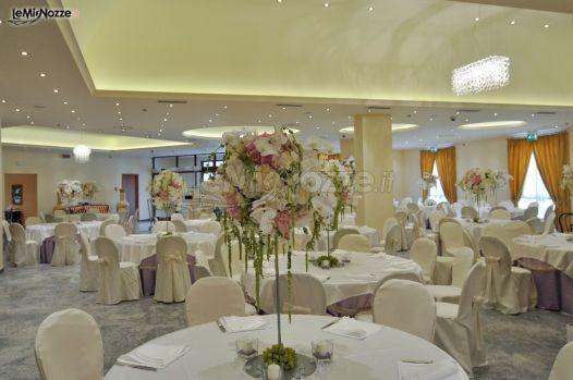 Composizioni floreali per i tavoli di matrimonio albergo heaven e del benessere foto 6 - Composizioni floreali per tavoli ...