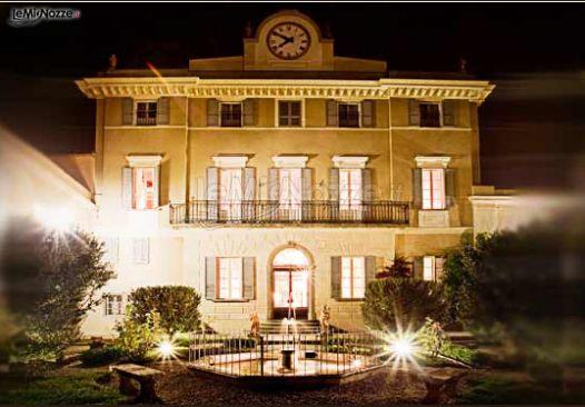Villa Scorzi in notturna