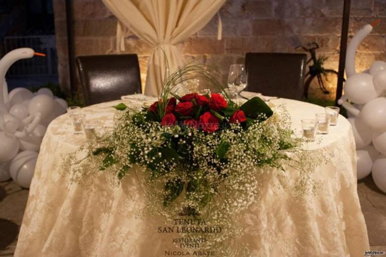 Tenuta San Leonardo - Il tavolo degli sposi