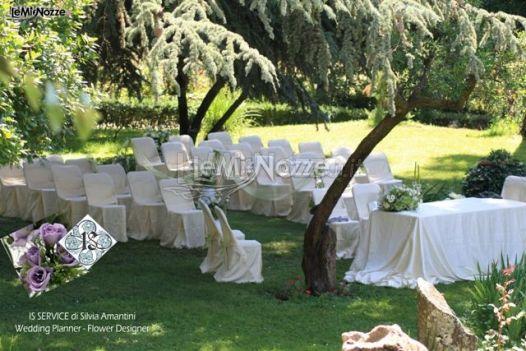 Foto 61 addobbi per cerimonie all 39 aperto cerimonia di for Addobbi per giardino
