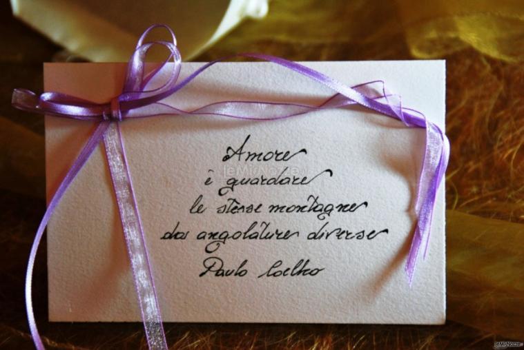 Partecipazioni e Coordinati di Tonia D'Adderio - Dediche originali per le nozze