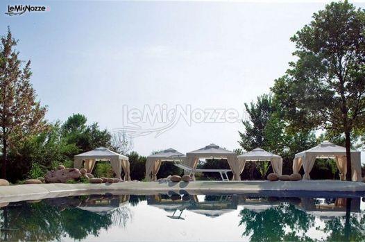 Location co piscina per il matrimonio a Modena - Yu Resort & Wellness