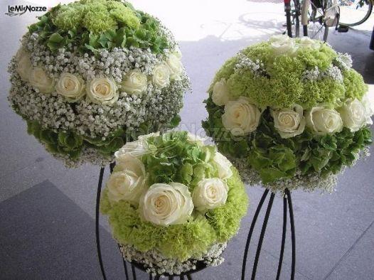 Addobbi floreali per il matrimonio a Roma - La Boutique del Fiore di Paolo Sa...