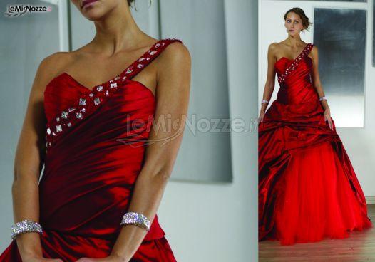 wholesale dealer 16cac 22e5b Foto 5 - Abiti da sposa colorati - Abito da sposa rosso ...