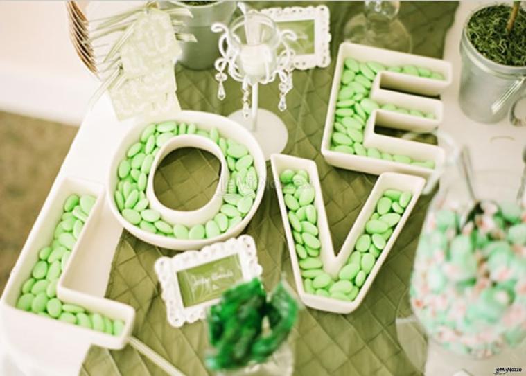 Estremamente Foto 62 - Matrimonio in verde - Confettata verde - LeMieNozze.it VK44