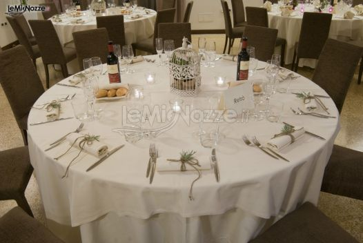 Tavolo per gli invitati