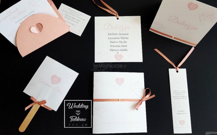 Wedding & Tableau design - Esempio Coordinato tema angeli