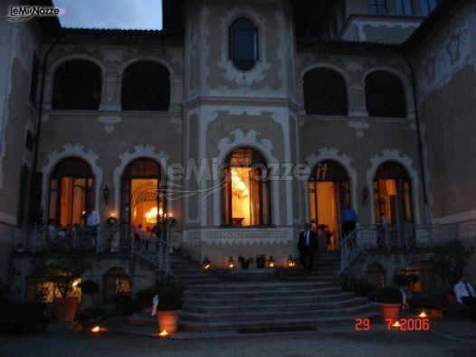 Matrimonio In Un Castello : Matrimonio serale in un castello di mercenasco