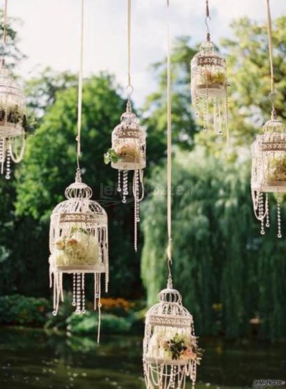 Foto 189 addobbi floreali location decorazione del for Decorazione giardino matrimonio