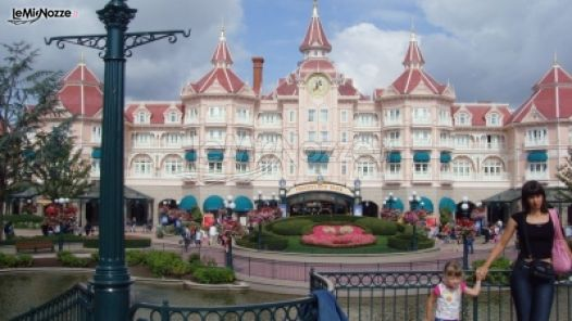 Viaggio di nozze a Disneyland Paris