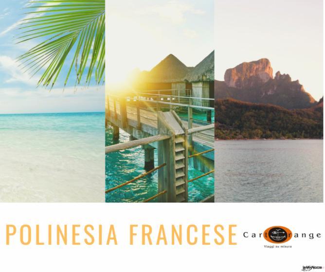 Silvia Bossini CartOrange - I viaggi di nozze su misura - Polinesia