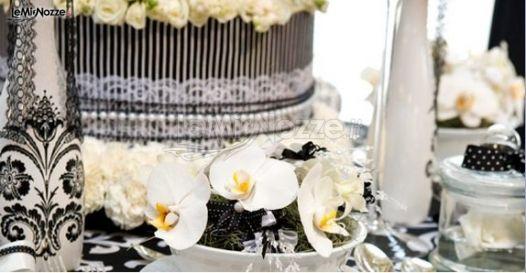 Matrimonio bianco e nero organizzato da Noemi Weddings