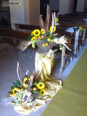 Addobbi Matrimonio Girasoli : Foto addobbi floreali chiesa e cerimonia addobbi floreali