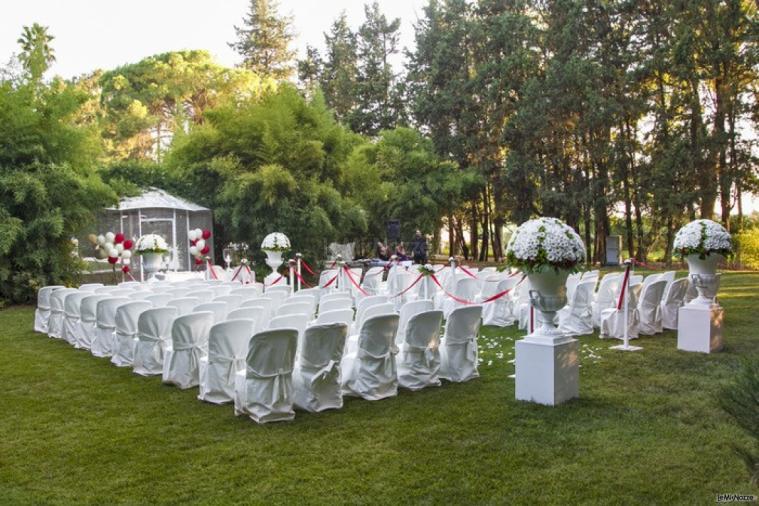 Villa Vergine - Cerimonia in giardino
