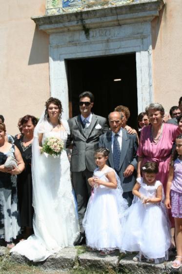 D'Aguanno Broadcast Foto - All'uscita dalla Chiesa