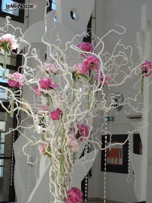 Foto 88 addobbi floreali location decorazione floreale - Rami secchi decorativi dove comprarli ...