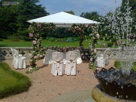 Addobbi Per Matrimonio In Giardino : Foto addobbi per cerimonie all aperto cerimonia di