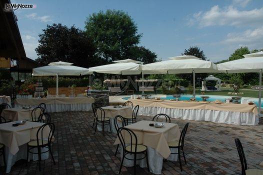 Ricevimento di matrimonio a bordo piscina la tenuta del for Matrimonio bordo piscina